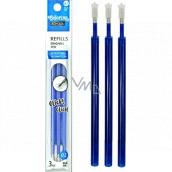 Colorino Náhradní náplň do gumovatelného pera modrá 0,5 mm 3 kusy