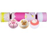 Bomb Cosmetics Fairy Godmother Cracker šumivý balistik do koupele 3 x 160 g, kosmetická sada