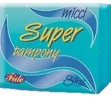 Micci Super dámské tampony 8 ks