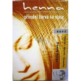 Henna Přírodní barva na vlasy Zlatý blond 114 prášková 33 g