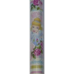 Disney Princess růžový vánoční balící papír 2 m x 0,7 m 1 role