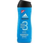 Adidas 3 After Sport sprchový gel na tělo a vlasy pro muže 400 ml