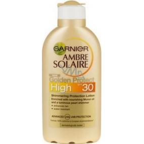 Garnier Ambre Solaire Golden Protect SPF30 mléko na opalování 200 ml