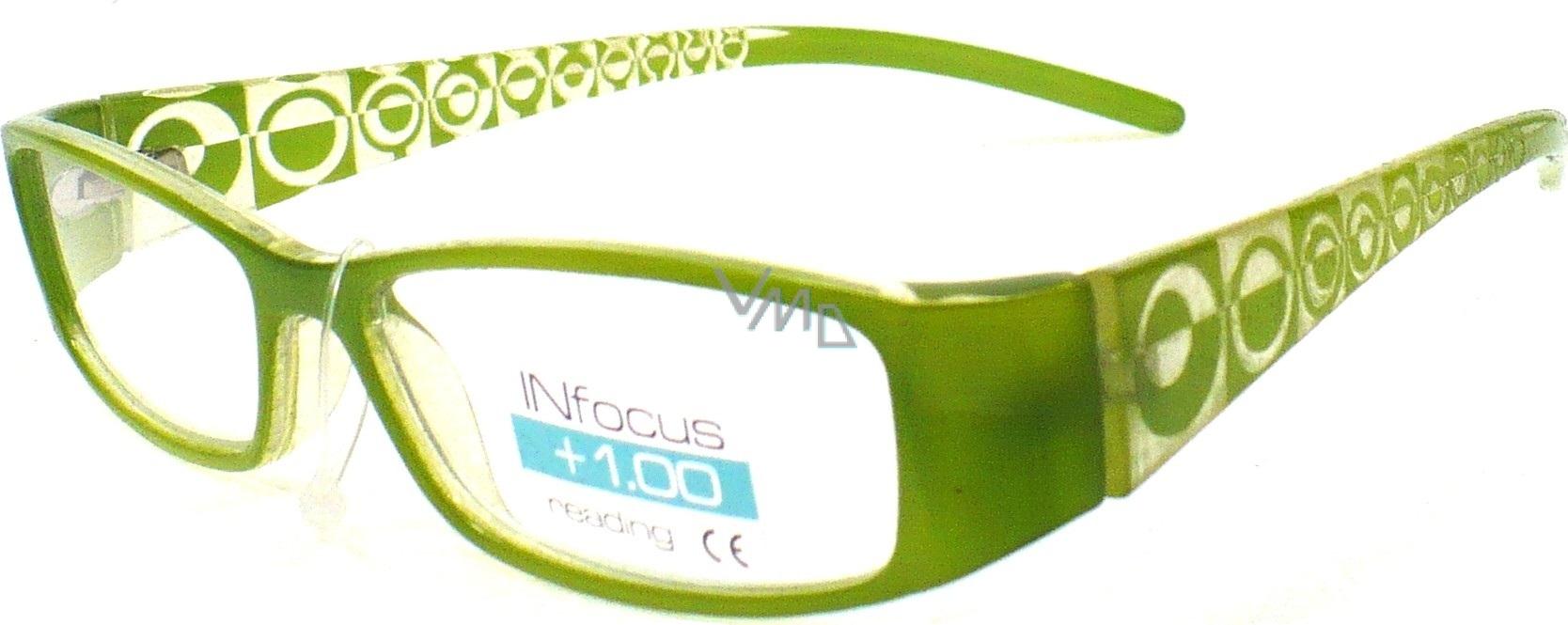 6b30c36f9 Berkeley Čtecí dioptrické brýle +1,50 zelené 1 kus R7603 PD62 - VMD ...