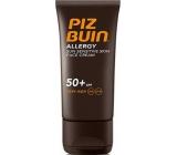 Piz Buin Allergy SPF50 opalovací krém na obličej 50 ml
