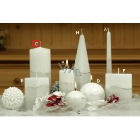 Lima Artic svíčka bílá válec 80 x 200 mm 1 kus
