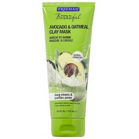 Freeman Avokádo & Oves Pěnivé čistící mléko na obličej Avokádo & Oves 175 ml
