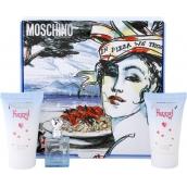 Moschino Funny! toaletní voda 4 ml + tělové mléko 25 ml + sprchový gel 25 ml, dárková sada