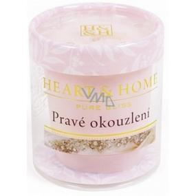 Heart & Home Pravé okouzlení Sojová vonná svíčka bez obalu hoří až 15 hodin 53 g