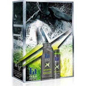 Fa Men Xtreme Sport sprchový gel 400 ml + antiperspirant deodorant sprej 150 ml, kosmetická sada
