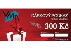 Dárkový poukaz VMD Drogerie na nákup zboží v hodnotě 300 Kč