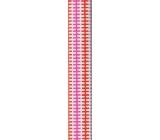 Nekupto Balicí papír červený, růžový 70 x 150 cm 916 30