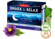 Terezia Spánek & Relax doplněk stravy s vysokým obsahem vlákniny, bez lepku 60 kapslí