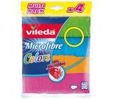 Vileda Microfibre Mikrohadřík univerzální 30 x 30 cm 4 kusy