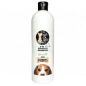 Just 4 Dogs Sensitive Oatmeal & Vanilla 2v1 šampon a kondicionér pro psy 500 ml