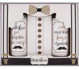 Bohemia Gifts Dědečkovi sprchový gel pro muže 100 ml + šampon na vlasy 100 ml + sůl do koupele 110 g, kosmetická sada