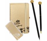 Albi Psací set Queen of Everything malý sešit + propiska + tužka + samolepící bloček