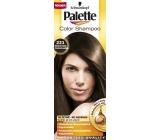 Schwarzkopf Palette Color Shampoo tónovací barva na vlasy 221 - Středně hnědý