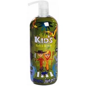 Hergon Crazy Jungle koupelová pěna pro děti 950 ml