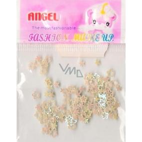 Angel Ozdoby na nehty kytičky a hvězdičky žluté 1 balení