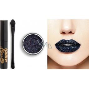 Glitter Lips dlouhotrvající lesk na rty se třpytkami Dark Disorder 3,5 ml