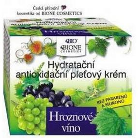 Bione Cosmetics Bio Hroznové víno hydratační antioxidační pleťový krém 51 ml