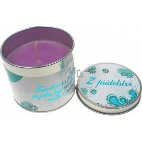 Nekupto Levandule dárková vonná svíčka 004 Z přátelství 18 g