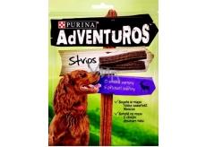 Purina Adventuros Strips plátky s příchutí zvěřiny 90 g