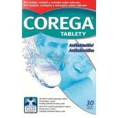 Corega Tabs čistící tablety na zubní náhrady protézy 30 kusů
