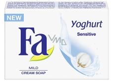 Fa Yoghurt Sensitive krémové toaletní mýdlo 90 g