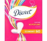 Discreet Normal No Perfume Economy intimní vložky 60 kusů