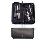 Kellermann 3 Swords luxusní manikúra 5 dílná Articial Leather z vysoce kvalitní umělé kůže 5212 F N BL