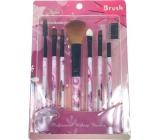 Jiajun Professional Make-up Brushes sada kosmetických štětců bílo-růžová 7 kusů 562