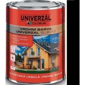 Colorlak Univerzal SU2013 syntetická lesklá vrchní barva Černá 0,6 l