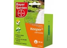 Bayer Garden Keeper zahrada neselektivní totální herbicid k ničení plevelů 50 ml