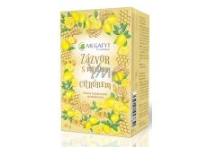 Megafyt Bylinková lékárna Ovocný Zázvor s medem & citronem 20 x 2 g