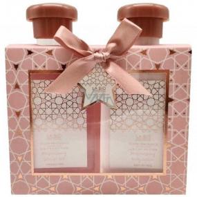 Salsa Collection Diamond Gabriela sprchový gel pro ženy 140 ml + tělové mléko 140 ml, kosmetická sada