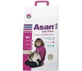 Asan Cat Pure ekologické stelivo pro krátkosrsté kočky, koťata a fretky 10 l