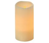Emos Svíčka LED svítící jantarová, 7,5 x 15 cm