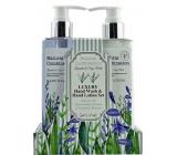 Salsa Collection Levandule, šalvěj a máta sprchový gel 240 ml + tělové mléko 240 ml, kosmetická sada