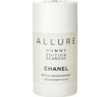 Chanel Allure Homme Édition Blanche deodorant stick pro muže 75 ml