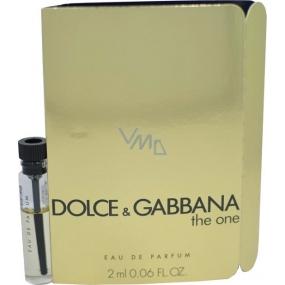 Dolce & Gabbana The One Female parfémovaná voda pro ženy 2 ml, Vialka