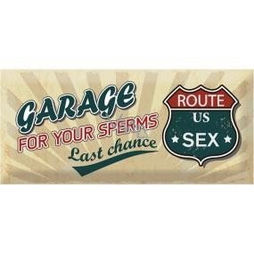 Bohemia Gifts & Cosmetics Love Condoms dárkový kondom Garage 1 kus