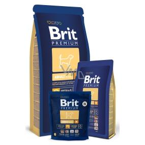 Brit Premium Adult M pro dospělé psy středních plemen 10 - 25kg 15kg Kompletní prémiové krmivo