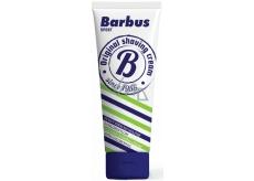 Barbus Sport pěnivý krém na holení s chlorofylem tuba 75 g