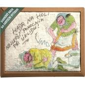 Bohemia Gifts & Cosmetics Dárkový hadr na sváteční vytírání Hadr na holi