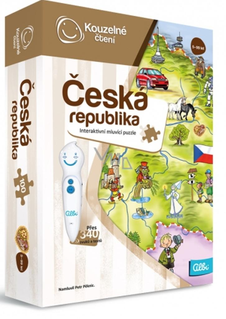 93d712671 Albi Kouzelné čtení interaktivní mluvící puzzle Česká republika ...