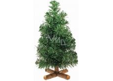 Stromek nezdobený s křížovým stojanem 30 cm