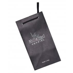 DÁREK Millefiori Milano Taška papírová černá na svíčky 1 kus