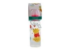 Disney Baby Medvídek Pú láhev dětská růžová 250 ml